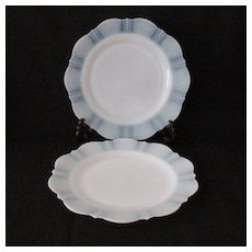 """(20) Vintage Collectible MacBeth-Evans 9"""" Luncheon Plates American Sweetheart Pattern with Monax Color 1930-36 In Like New Condition"""