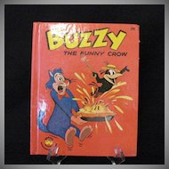 Vintage Harvey Cartoon Character Buzzy The Funny Crow 1963 Like New Condition Wonder Books