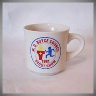 Vintage 1991 Boy Scout Mug Excellent Condition