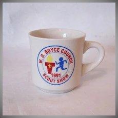 Vintage 1991 Boy Scout Mug Excellent Condition