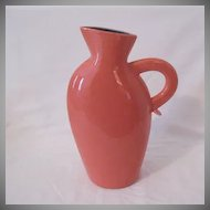 Vintage Collectible Lindt-Stymeist Colorways Salmon 10 1/2 Inch Pitcher/Vase Mint Condition