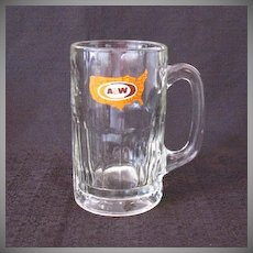 Vintage A & W Root Beer Mug 1972-1975 Excellent Condition