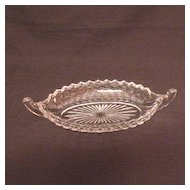 Vintage Fostoria American 12 Inch Large Boat/Serving Dish 1916-1985 Excellent Condition