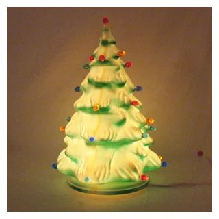 Plastic Christmas Tree.Vintage Molded Plastic Christmas Tree With 27 Prisms Lights 1950 60s Very Good Vintage Condition