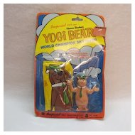 Vintage Collectible Yogi Bear World Champion Sky Diver Very Good Condition 1977