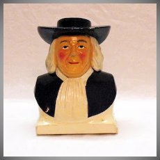 Vintage Plastic Quaker Oats Sugar Shaker 1950-60s Good Condition