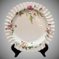 Vintage Royal Doulton Fine bone China 12 1/8 inch Round Chop Platter Very Good Condition
