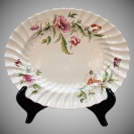 Vintage Royal Doulton Fine Bone China 11 inch Oval Platter Clovelly Pattern.