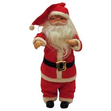 Older Santa Claus Doll 1960s Good Condition