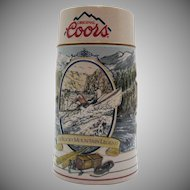 Vintage Coors Promotional Stein 1992 Excellent Condition