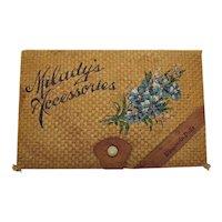 Vintage Souvenir Vanity Box Wisconsin Dells 1930-40s Very Good Vintage Condition