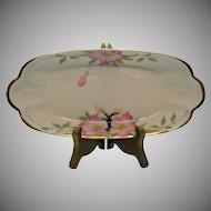 Vintage Noritake Closed Handle Celery Tray Azalea Pattern #19322 Very Good Condition