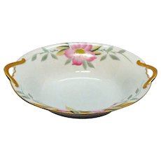 Vintage Noritake Oval Vegetable Bowl Azalea Pattern #19322 Very Good Condition