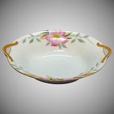 Vintage Noritake Oval Vegetable Bowl Azalea Pattern #19322 Very Good Condition