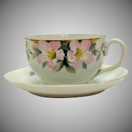 Vintage 6 Nippon Cup & Saucer Sets Azalea Pattern #19322 Very Good Condition