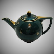 Vintage Hall 6 Cup Star Tea Pot 1940s Very Good Condition