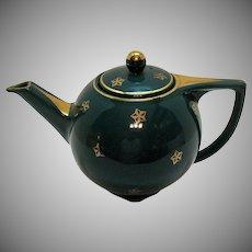 Vintage Hall 6 Cup Star Tea Pot 1940s Very Good Condition