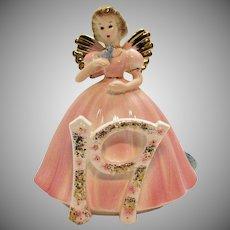 Vintage Josef Original Figurine 19th Year Birthday Girl 1989 Very Good Condition