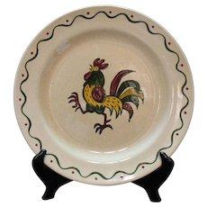 Vintage 2  Metlox Vernon Poppytrail California Provincial 12 Inch Chop Plate 1956-82 Very Good Condition