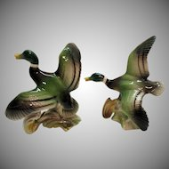 Vintage Geese in Flight Figurines 1950-60s Very Good Condition