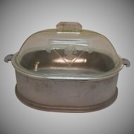 Vintage Large Guardian Ware Cast Aluminum 1930-56 Good Usable Condition