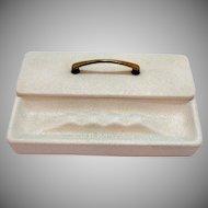 Vintage Ceramic Cigarette box with Ashtray 1950-60s Good Condition