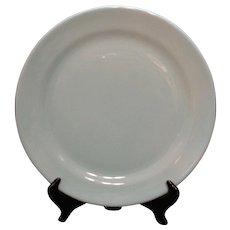 Vintage Taylor-Smith-Taylor Luray 14 Inch Chop Plate Windsor Blue Color Very Good Condition