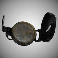 Vintage Lensatic Military Compass 1940-50s Good Condition