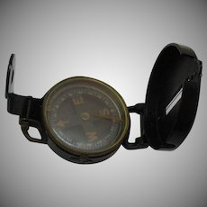 Vintage Lensatic Military Compass 1940-50s Good Condition