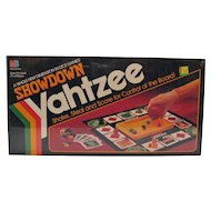 Vintage Showdown Yahtzee 1991 Never Opened