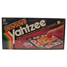 Vintage Showdown Yahtzee 1991 Never Opened