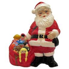 Vintage Rare Don Winton Christmas Cookie Jar 1960s Good Condition
