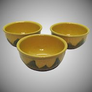 Two Vintage Shawnee Corn Ware #6 Mixing Bowls 1941-61
