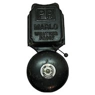Vintage Electric Cast Iron Alarm Bell Fire/School Signal Early 1900s