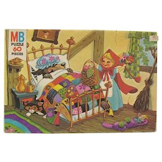 Vintage Milton Bradley 60 Pc. Puzzle of Little Red Riding Hood 1978 Never Opened