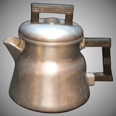 Vintage One Cup Aluminum Coffee Pot 1930-40s Good Condition