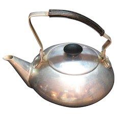 Vintage One Cup Aluminum Tea Pot 1930-40s Good Condition