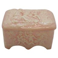Vintage Ceramic Vanity or Trinket Box Italian 1960s