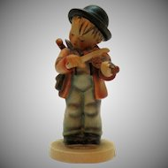Vintage Hummel Boy Figurine the Fiddler 1960-72 Good Condition