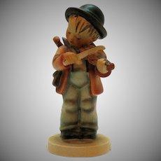 Vintage Hummel Boy Figurine the Fiddler 1960-72 Good Condition