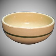 Vintage Watt Pottery #73 Bowl Apple Motif 1952-62 Good Vintage Condition