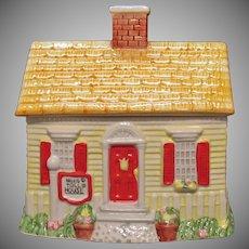 Vintage Nestle Toll House Cookie Jar 1992 Good Condition