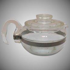 Vintage Pyrex Tea Pot #8446-B 6 Cup Good Condition
