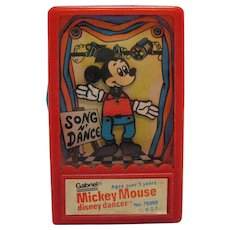 Vintage Mickey Mouse Dancer Toy Gabriel for W.D.P. 1975 Good Working Condition