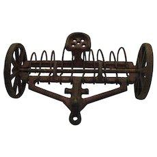 Vintage Arcade Toy Farm Implement Cast Iron 1920-30s Good Vintage Condition