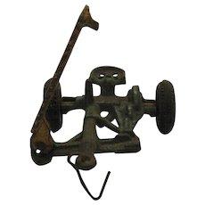 Vintage Arcade Cast Iron Sickle Mower Farm Implement Toy 1920-30s  Vintage Condition
