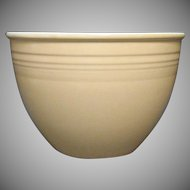 Vintage Homer Laughlin Fiesta #5 Yellow Mixing Bowl 1936-43 Good Vintage Condition