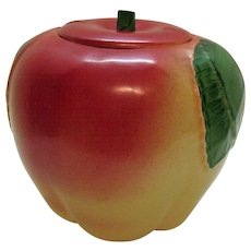 Vintage 1950s Hull Apple Cookie Jar Good Condition