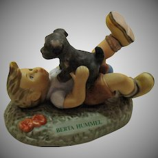 Vintage Porcelain Figurine by Berta Hummel #4 Pals Very Good Condition