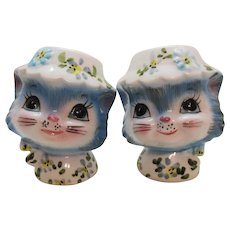 Vintage Lefton Miss Priss S&Ps Shakers 1964-73 Good Condition